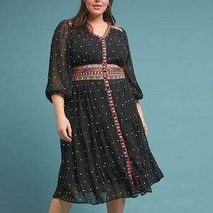 Anthropologie La Boheme Dress